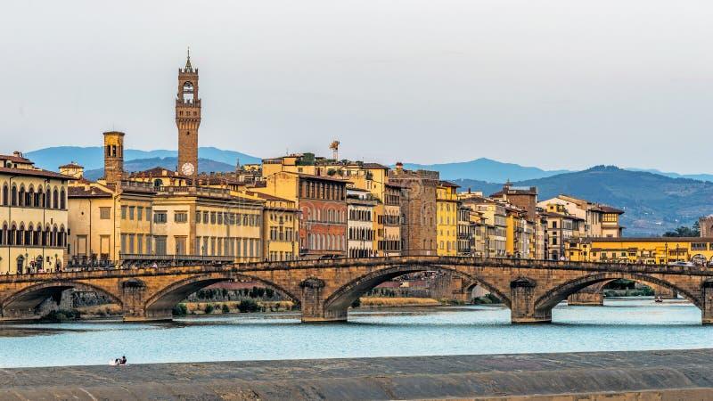 Paysage urbain de Florence image libre de droits