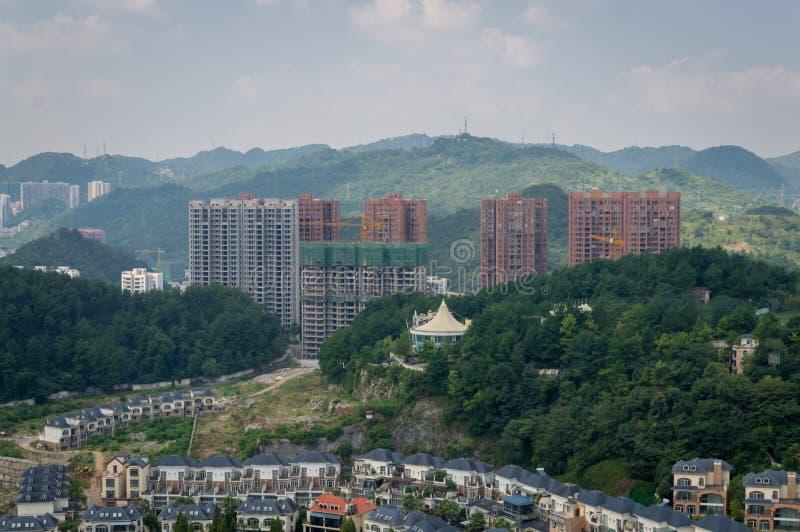 Paysage urbain de forêt de Guiyang 2 photos stock