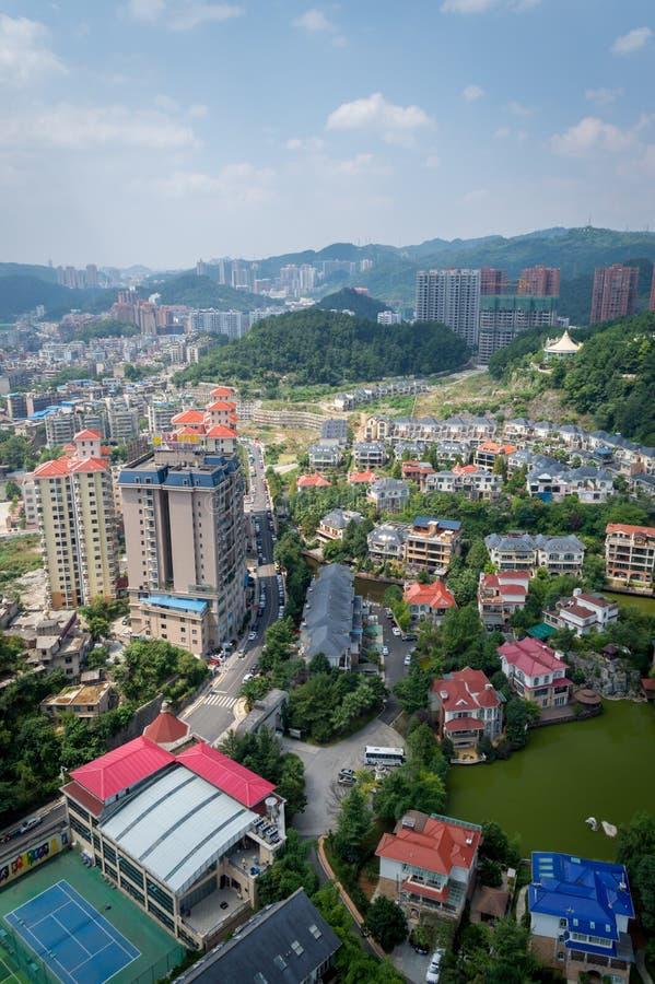 Paysage urbain de forêt de Guiyang 4 photo libre de droits