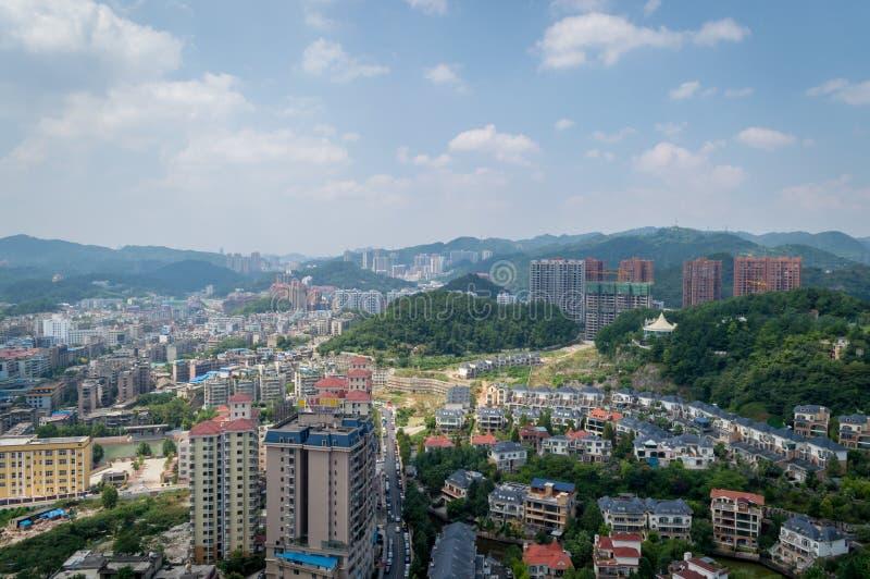 Paysage urbain de forêt de Guiyang 7 photos stock