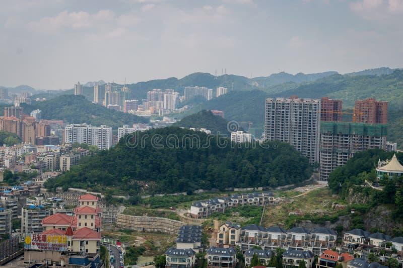 Paysage urbain de forêt de Guiyang 8 photo stock