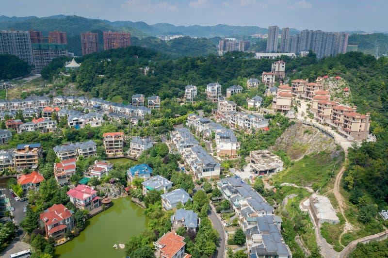 Paysage urbain de forêt de la ville 4 de Guiyang photos libres de droits