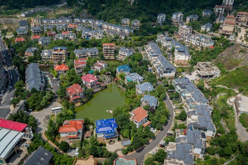Paysage urbain de forêt de la ville 5 de Guiyang image libre de droits