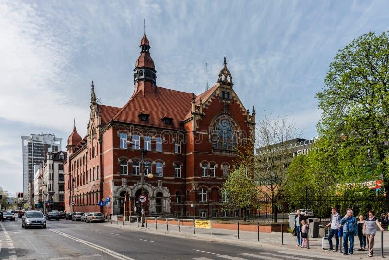 Paysage urbain de Katowice photos libres de droits
