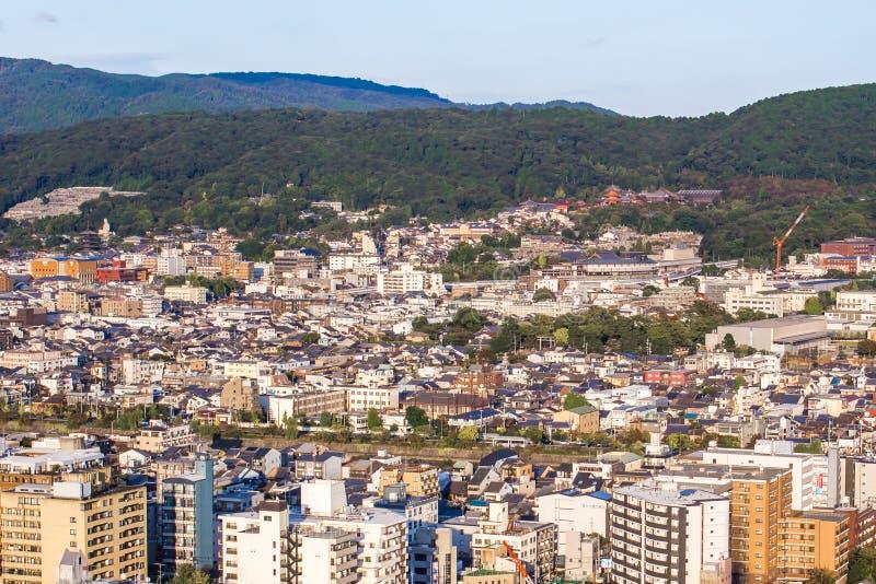 Paysage urbain de Kyoto, Japon photo libre de droits
