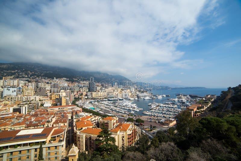 Paysage urbain de La Condamine, Monaco Principauté du Monaco, Frenc photo libre de droits