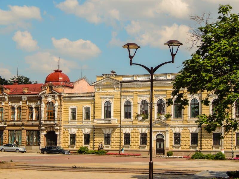 Paysage urbain de la ville L'Ukraine Kirovograd le 20 juin 2018 éditorial photographie stock libre de droits