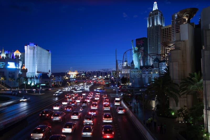 paysage urbain de Las Vegas image libre de droits