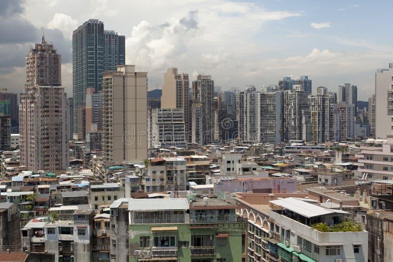 Paysage urbain de Macao photos stock