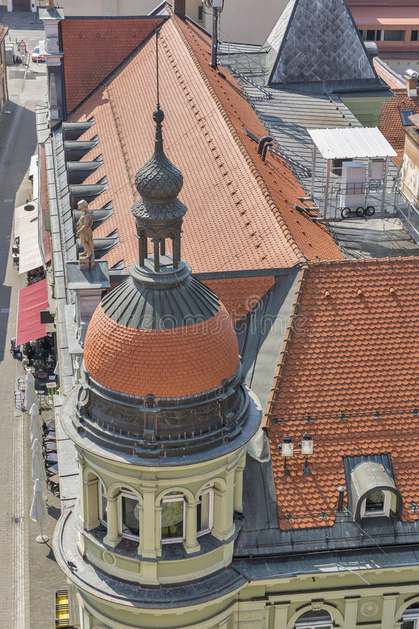 Paysage urbain de Maribor, Slovénie image libre de droits