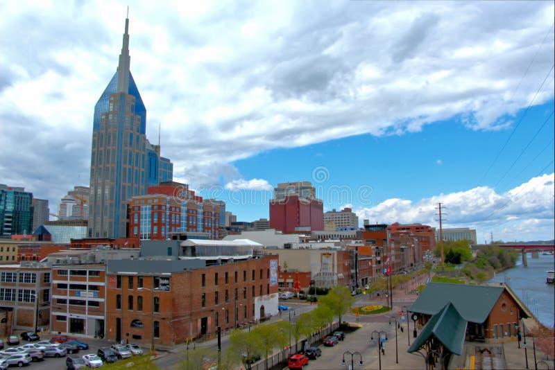 Paysage urbain de Nashville images stock