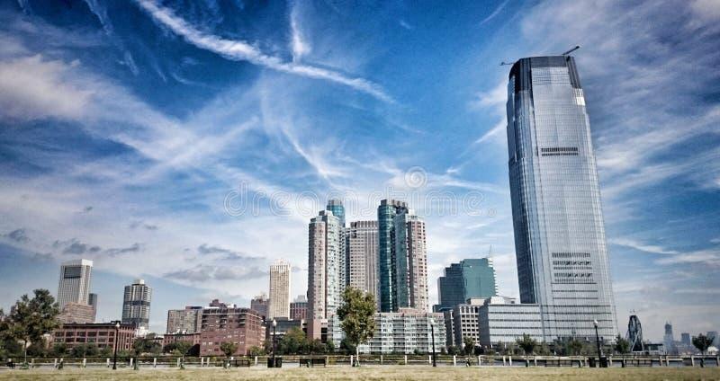 Paysage urbain de New Jersey photographie stock libre de droits