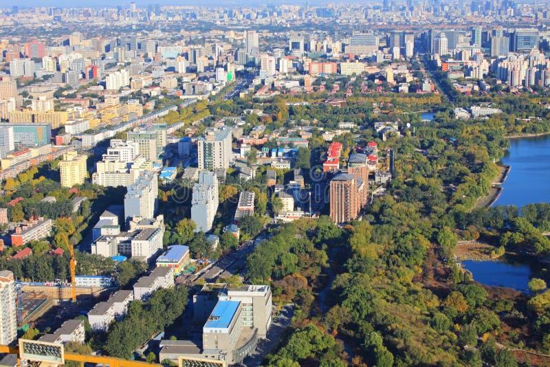 Paysage urbain de Pékin image libre de droits
