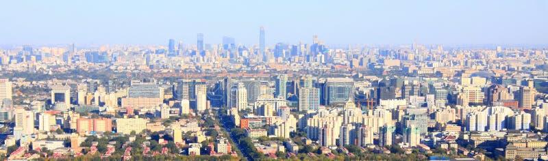 Paysage urbain de Pékin photographie stock libre de droits