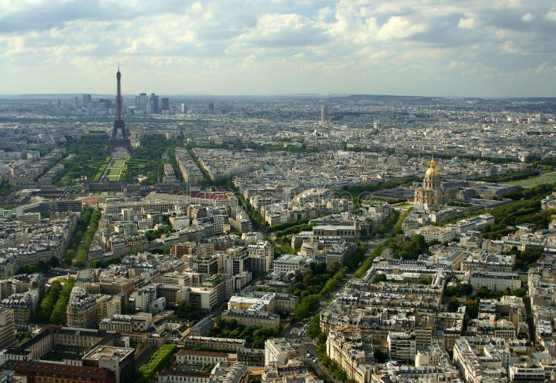 Paysage urbain de paris image stock image du encombrement for Paris paysage