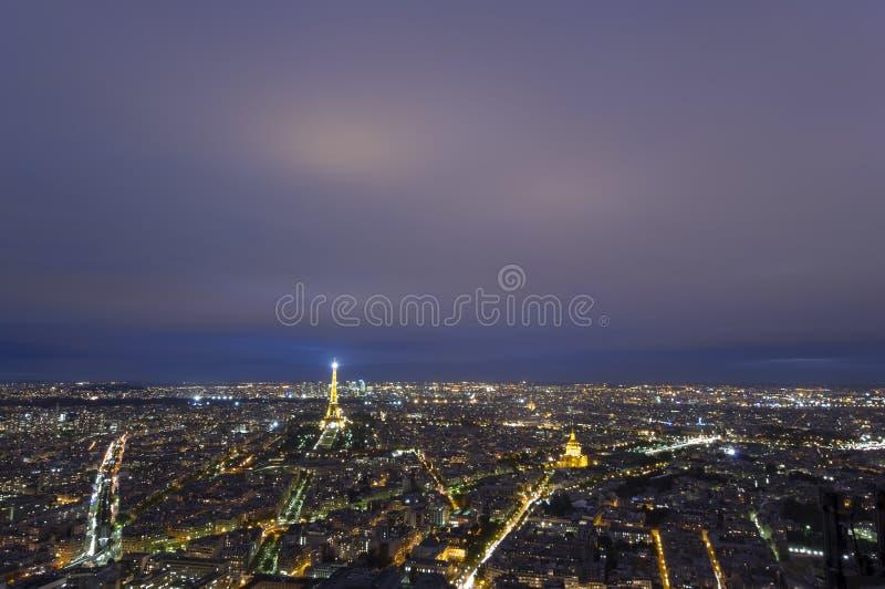 Paysage urbain de Paris, France photo libre de droits