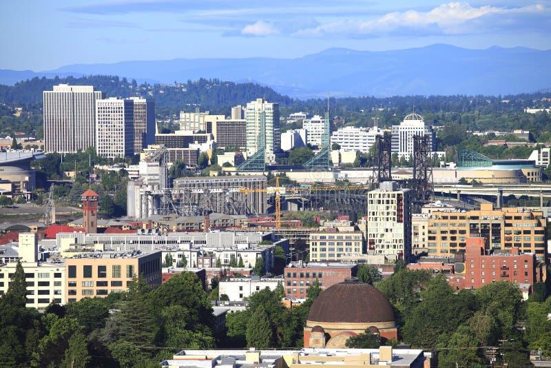 Paysage urbain de Portland Orégon. photo stock