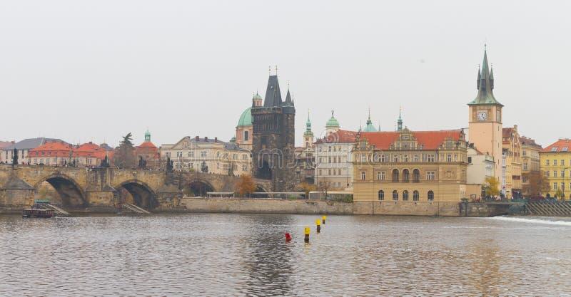 Paysage urbain de Prague photo stock