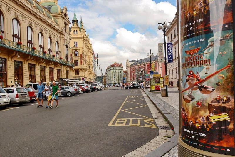 Paysage urbain de Prague images stock