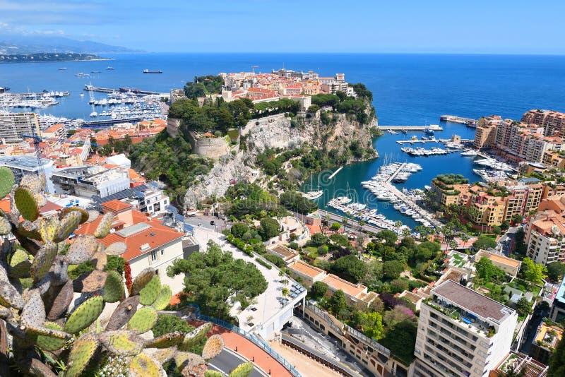 Paysage urbain de principaut? du Monaco image stock