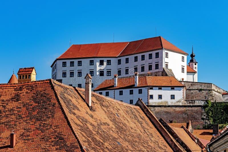 Paysage urbain de Ptuj images stock