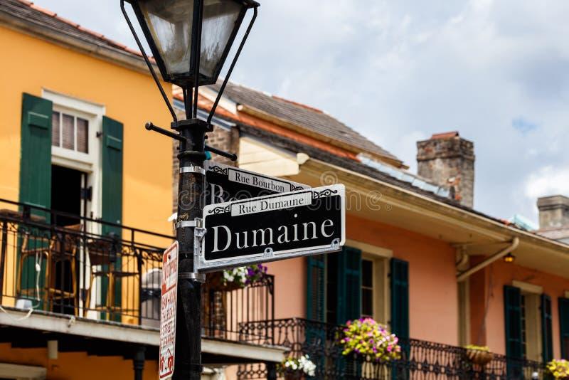 Paysage urbain de quartier français image libre de droits