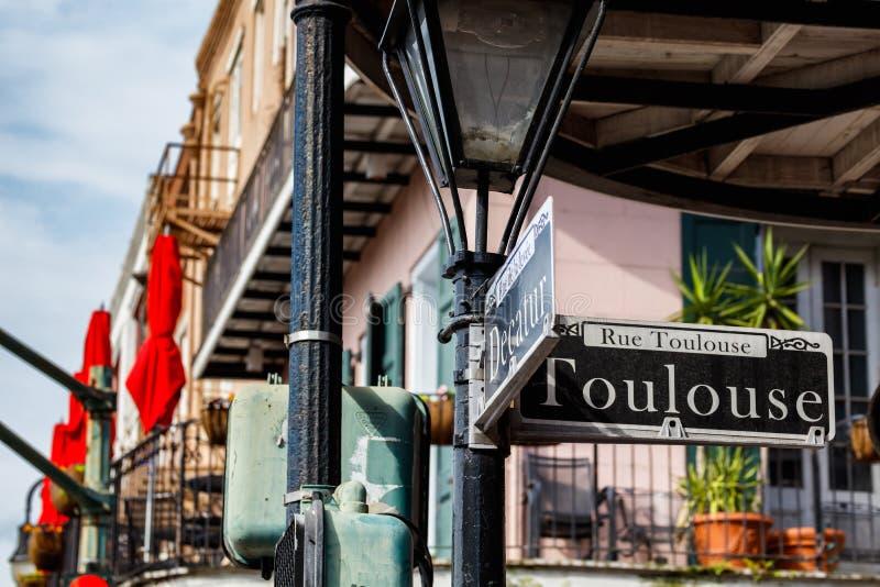 Paysage urbain de quartier français images stock