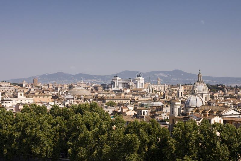 Paysage urbain de Rome photo libre de droits
