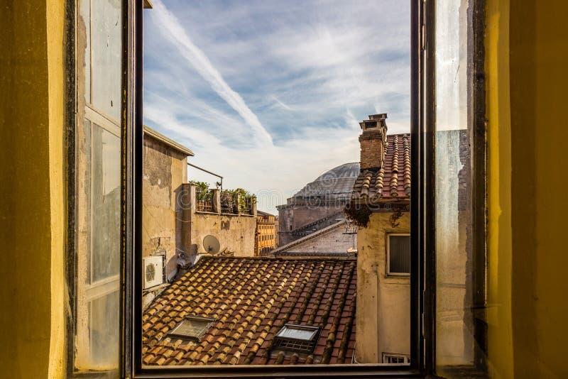 Paysage urbain de Rome images stock