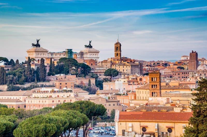 Paysage urbain de Rome photo stock
