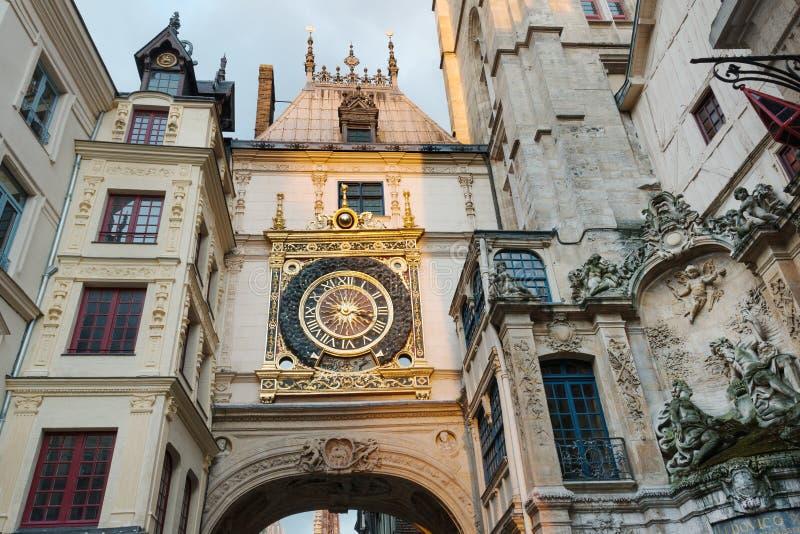 Paysage urbain de Rouen photographie stock