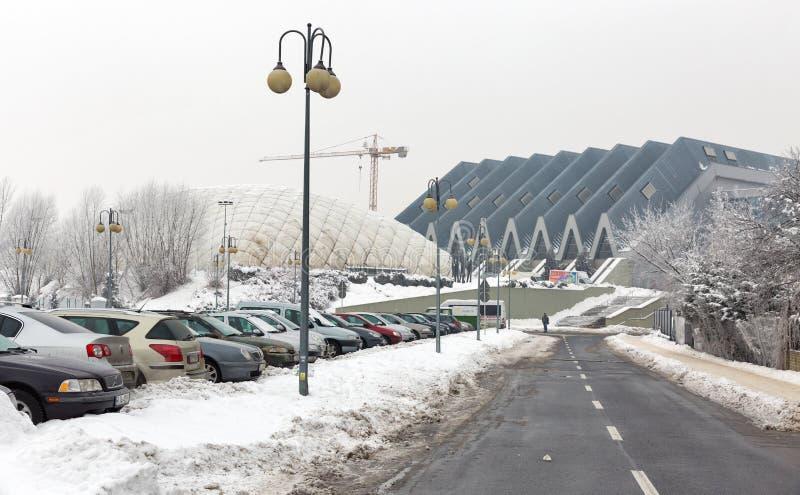 Paysage urbain de Rzeszow, Pologne images stock