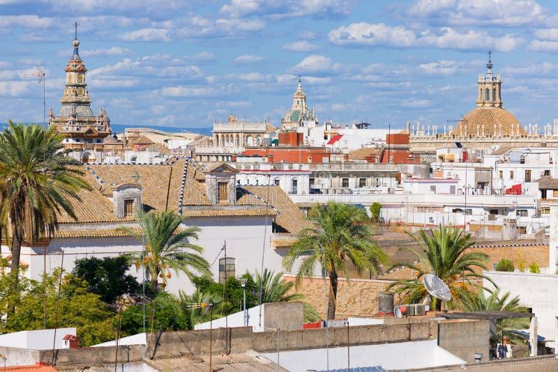 Paysage urbain de Séville image stock