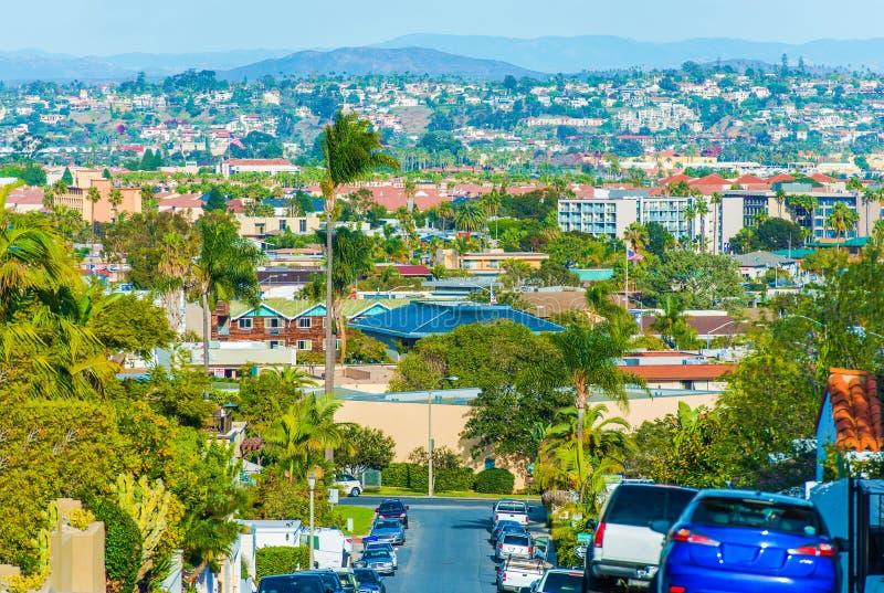 Paysage urbain de San Diego image stock