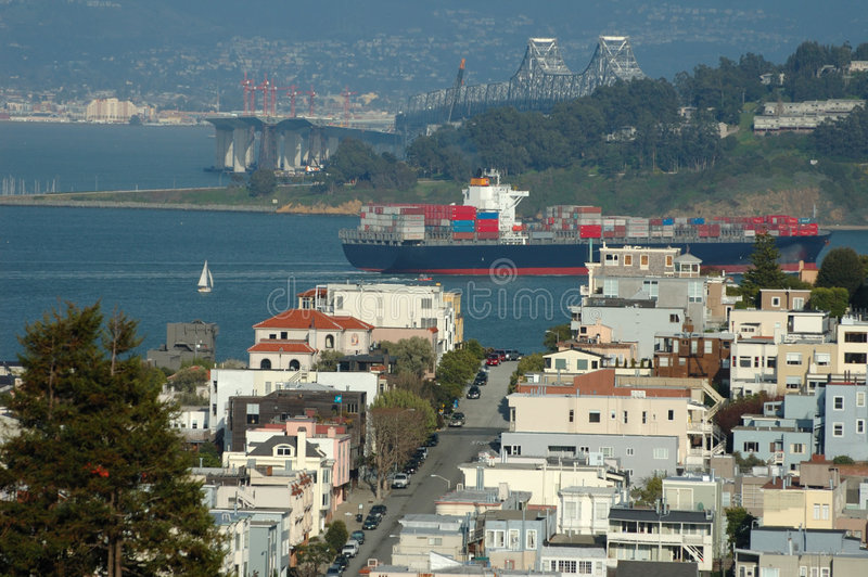 Paysage urbain de San Francisco photo libre de droits