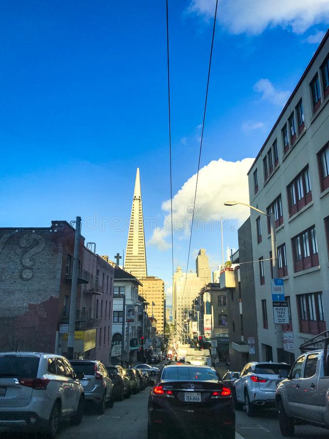 Paysage urbain de San Francisco photo stock