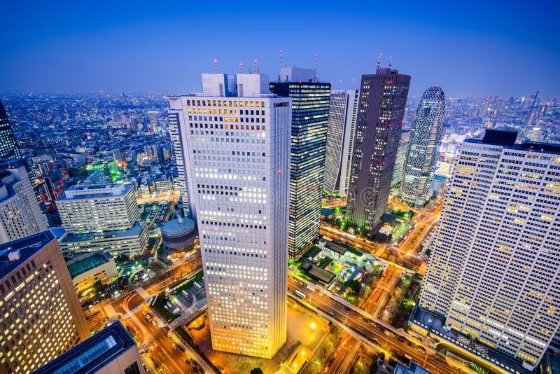 Paysage urbain de Shinjuku images stock