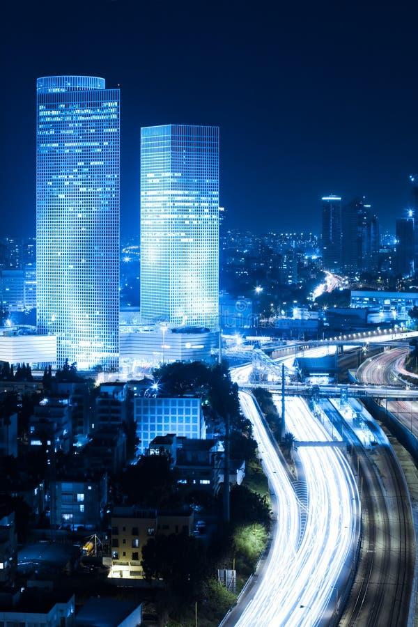 Paysage urbain de Tel Aviv image stock