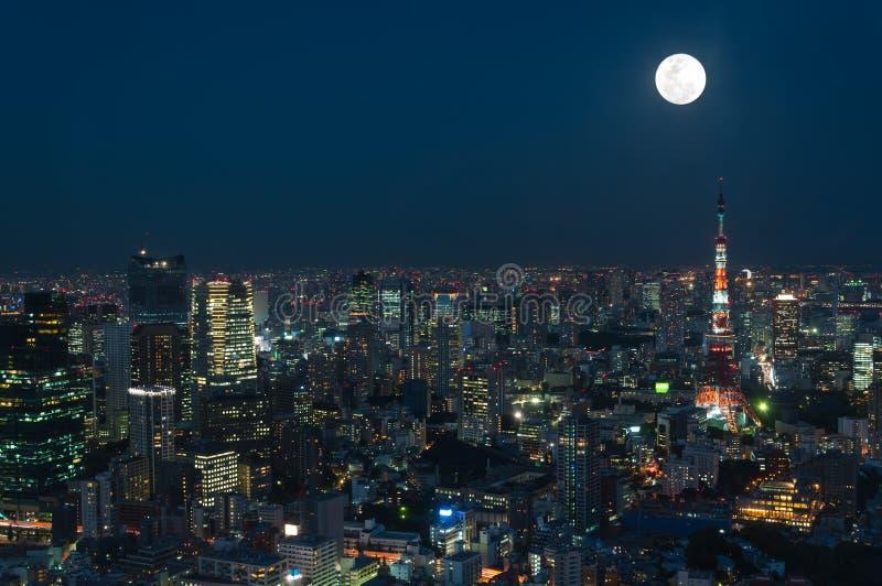 Paysage urbain de Tokyo photos stock