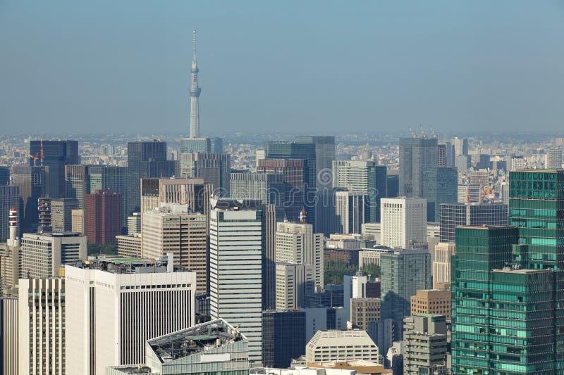 Paysage urbain de Tokyo image libre de droits
