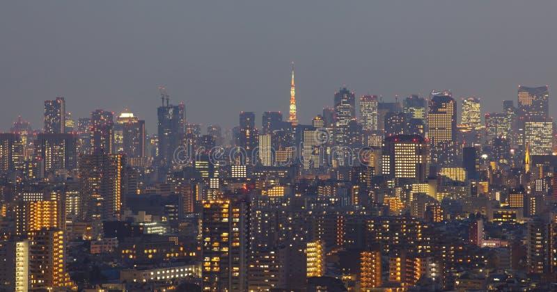Paysage urbain de Tokyo image stock