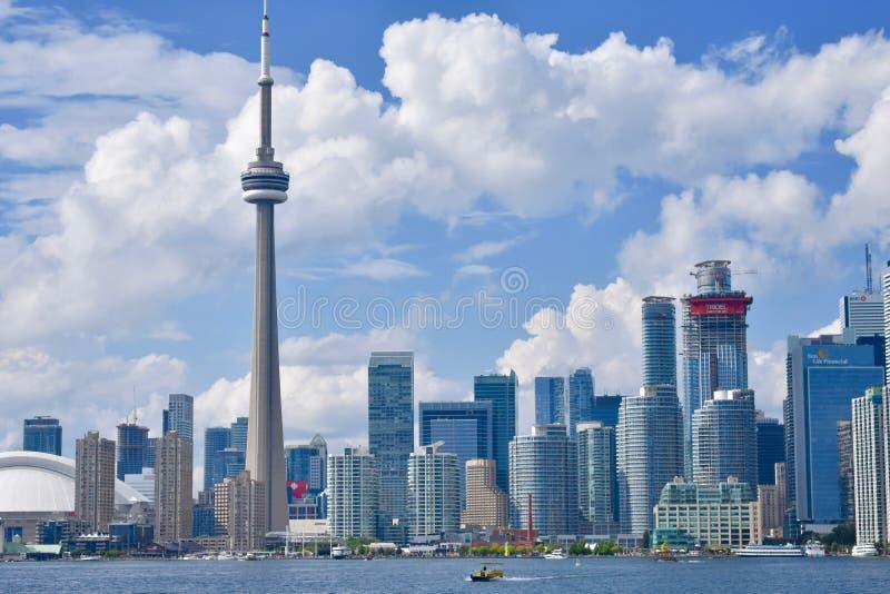 Paysage urbain de Toronto photos stock
