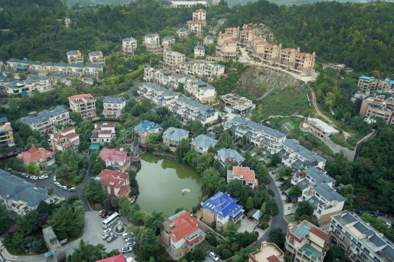 Paysage urbain de tourisme de forêt de Guiyang, porcelaine photographie stock