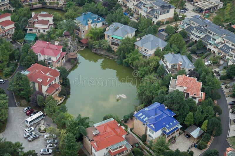 Paysage urbain de tourisme de forêt de Guiyang, porcelaine 8 image stock