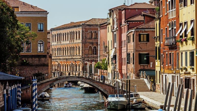 Paysage urbain de Venise image stock