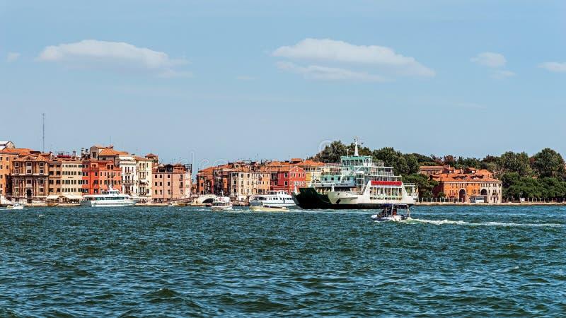 Paysage urbain de Venise photo stock