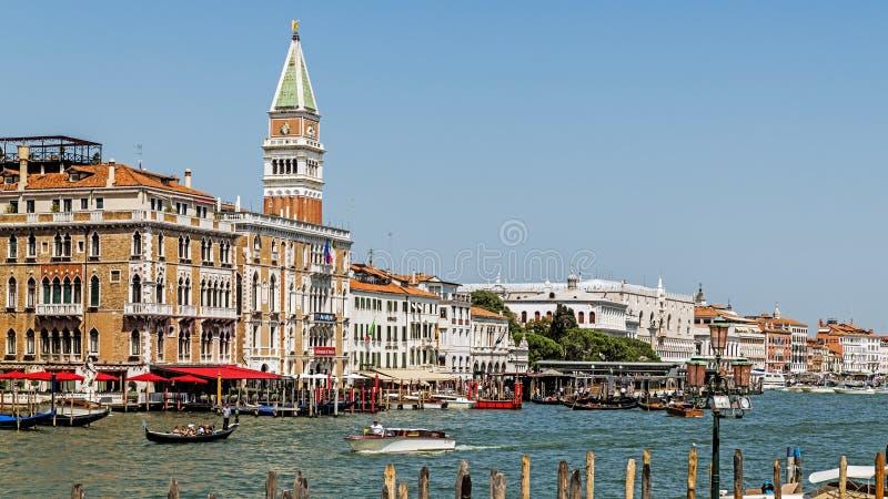 Paysage urbain de Venise photos libres de droits