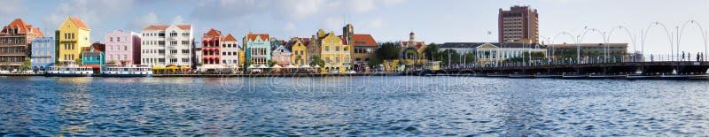 Paysage urbain de Willemstad image libre de droits