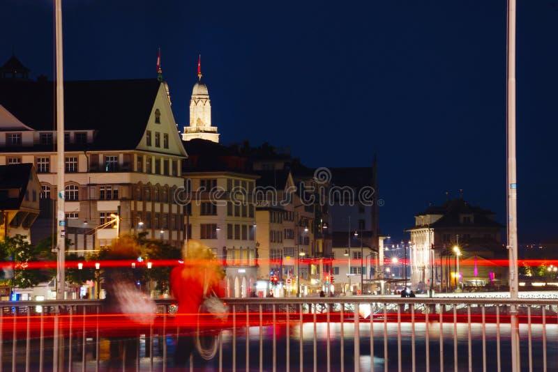 Paysage urbain de Zurich, Suisse photos libres de droits