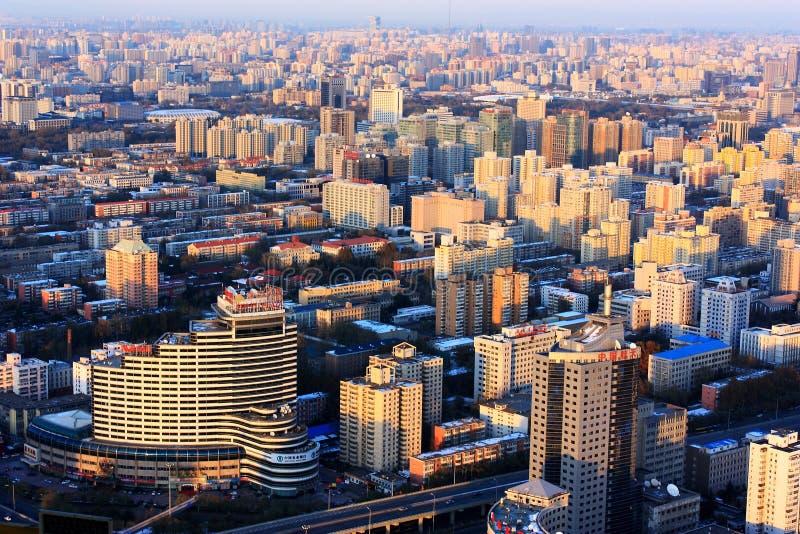 paysage urbain des constructions images stock